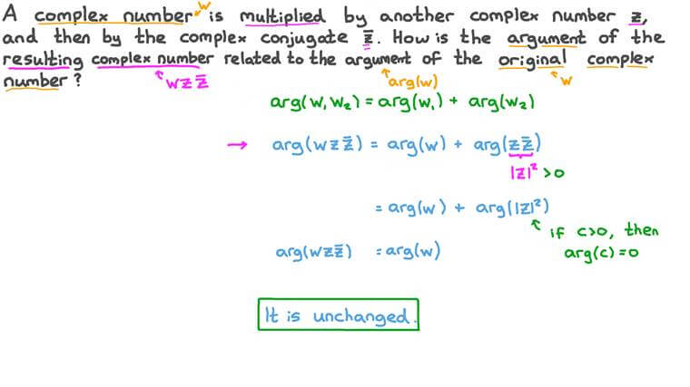 Using Multiplication of Complex Numbers to Describe Rotations