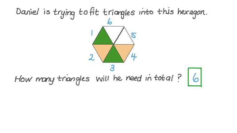 Contar triángulos en figuras planas compuestas