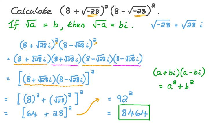 Multiplying Complex Numbers with Powers