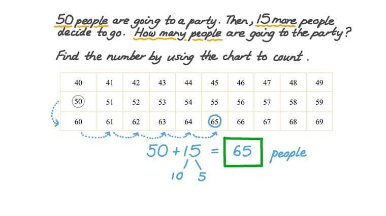 Sumar dos números menores de 99 contando