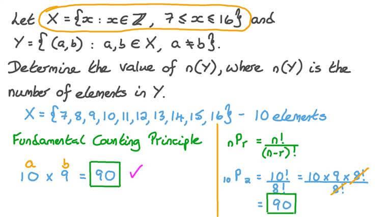 Résoudre de problèmes impliquant des arrangements et des combinaisons