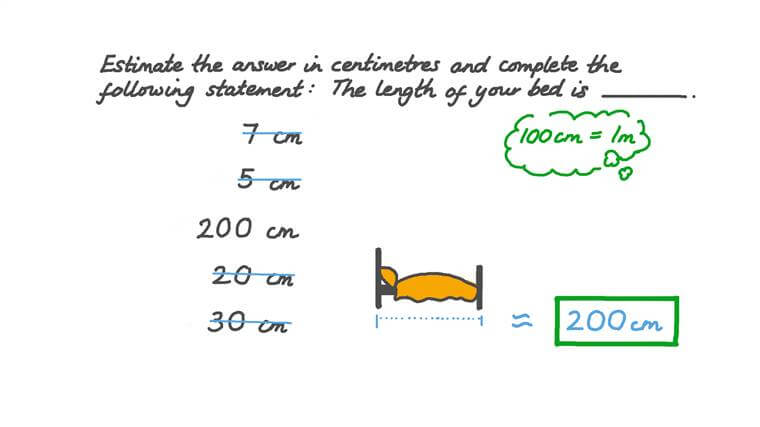 Choosing the Suitable Unit for the Length of an Object