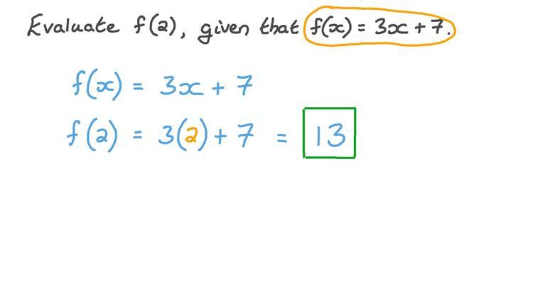 Calcul des fonctions linéaires à une valeur spécifique
