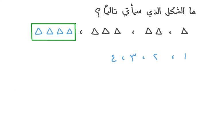 استنباط معلومات حول الأنماط التي تتضمن أشكالًا