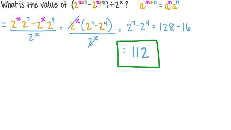 Simplificar expresiones algebraicas aplicando las reglas de los exponentes