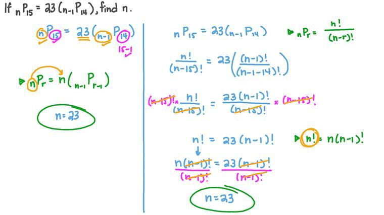 Équations avec des arrangements