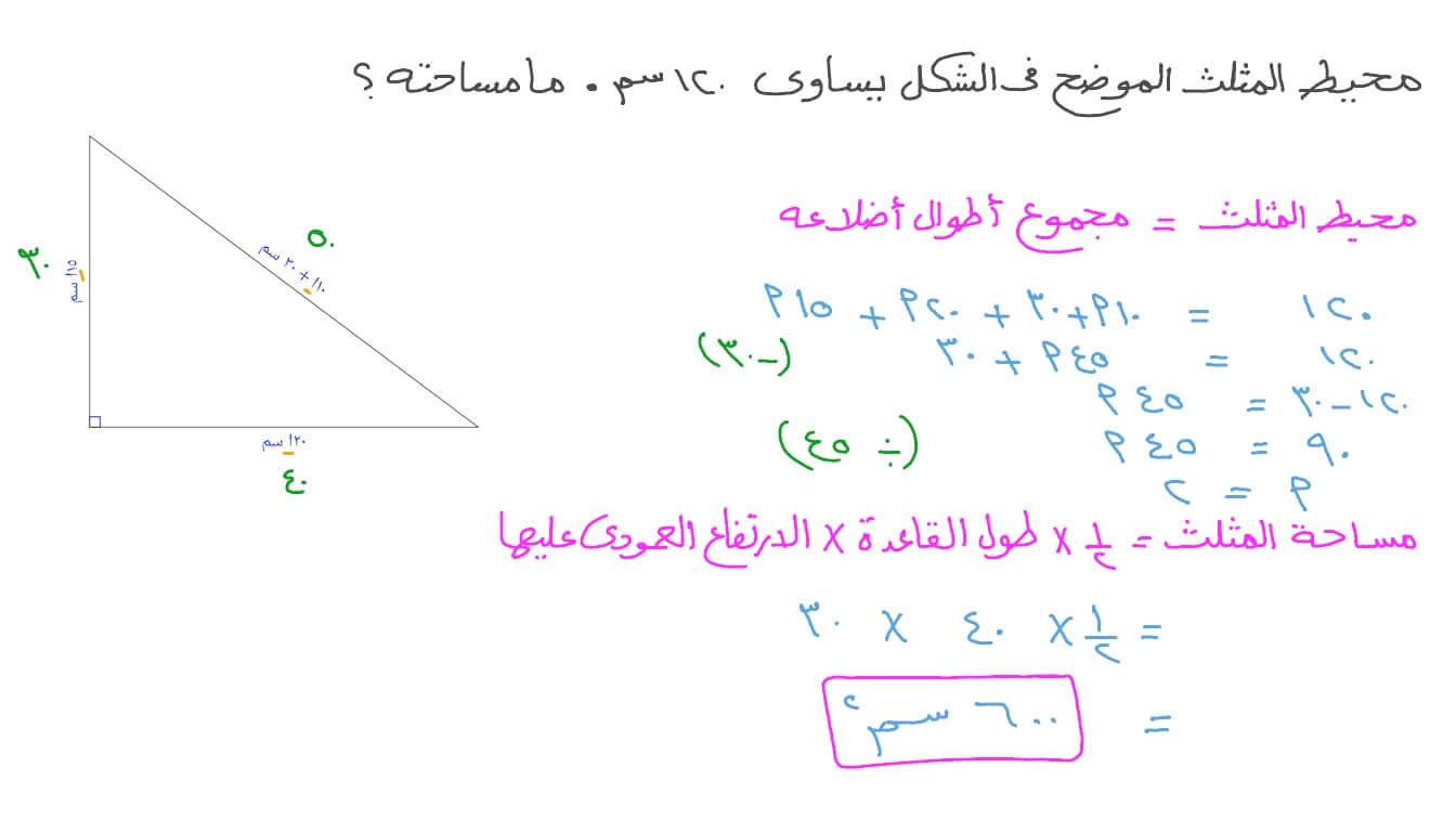 رياضي نلتقي السودان ماذا يساوي محيط المثلث Sjvbca Org