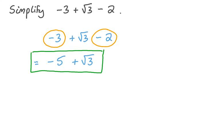 Simplifying Numerical Expressions Involving Square Roots