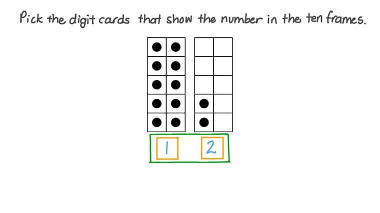 Reconocer números del 11 al 19 en figuras y cifras