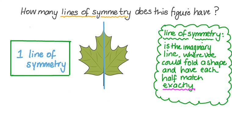 Finding the Number of Lines of Symmetry of a Figure