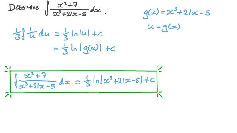 Déterminer l'intégrale d'une fonction rationnelle à l'aide d'un changement de variable