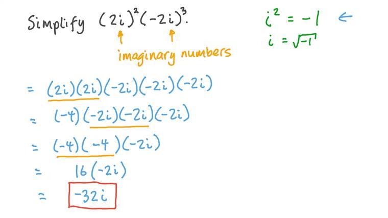 Multiplier des nombres imaginaires