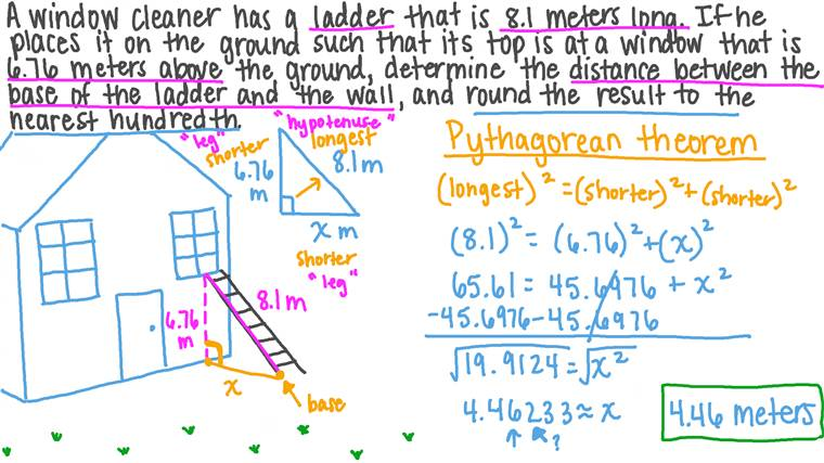 Applying Pythagoras's Theorem to Solve Complex Problems in Real-Life Contexts