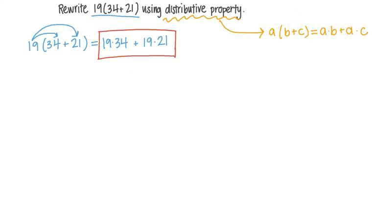 Réécrire une expression en utilisant la distributivité