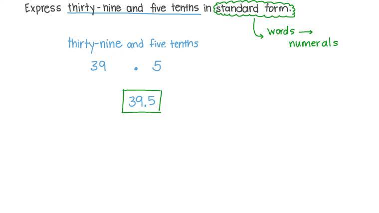 Utilizando o Valor Posicional para Escrever Números Decimais na Forma Padrão