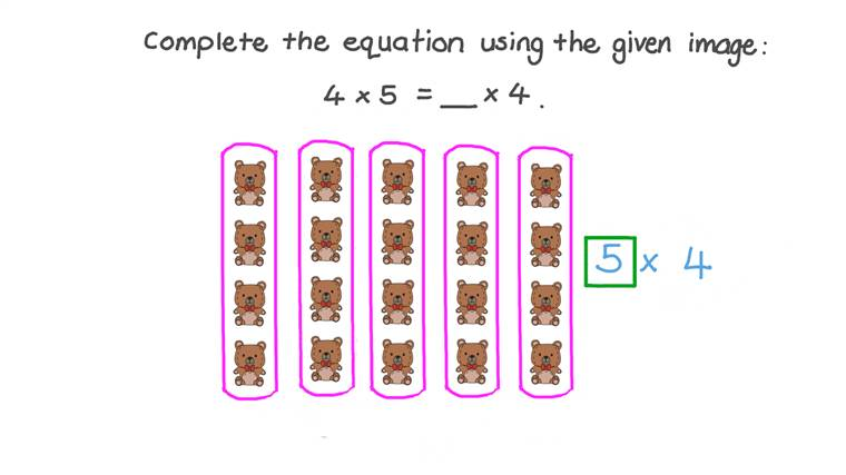 Finding the Array That Describe a Specific Multiplication Sentence