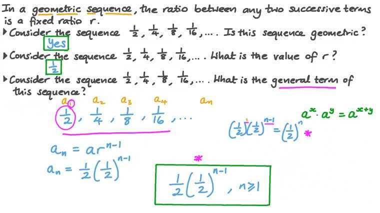 Finding the Common Ratio and General Term of a Geometric Sequence