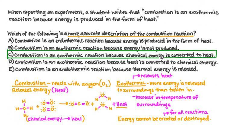 Identifier les problèmes dans des descriptions de réactions exothermiques