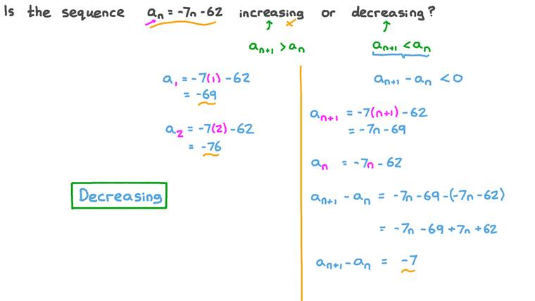 Discussing the Monotonicity of an Arithmetic Sequence
