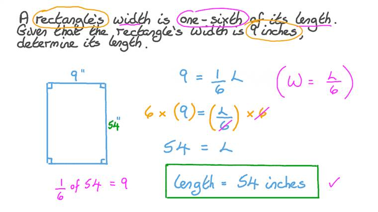 Writing and Solving Multiplication Linear Equations in a Real-World Context Involving Fractions