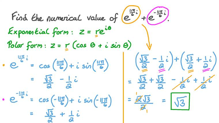 Adding Complex Numbers in Exponential Form