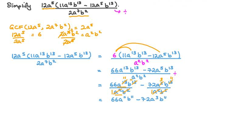 Simplifying Algebraic Expressions Using Laws of Exponents