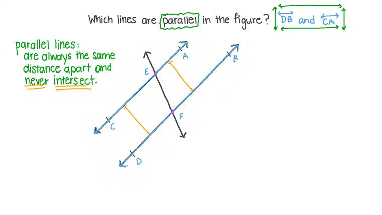 Identifying Parallel lines