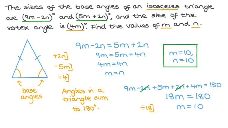Forming and Solving a System of Linear Equations with Two Unknowns