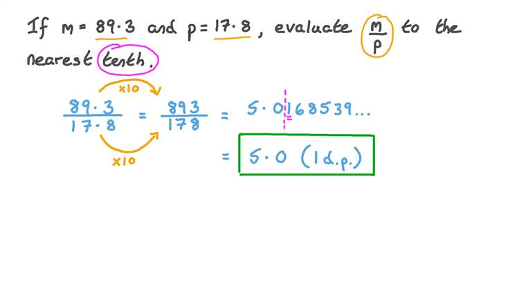 Evaluating Algebraic Fractions Involving Decimal Numbers