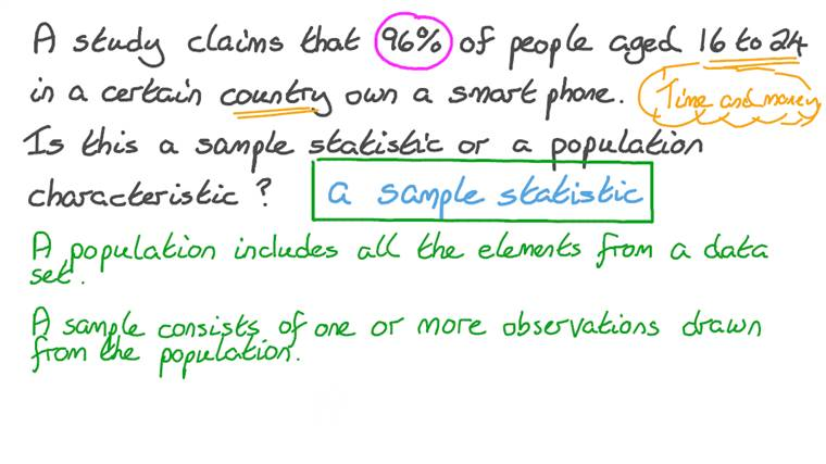 Collecting Data from a Sample vs. a Whole Population