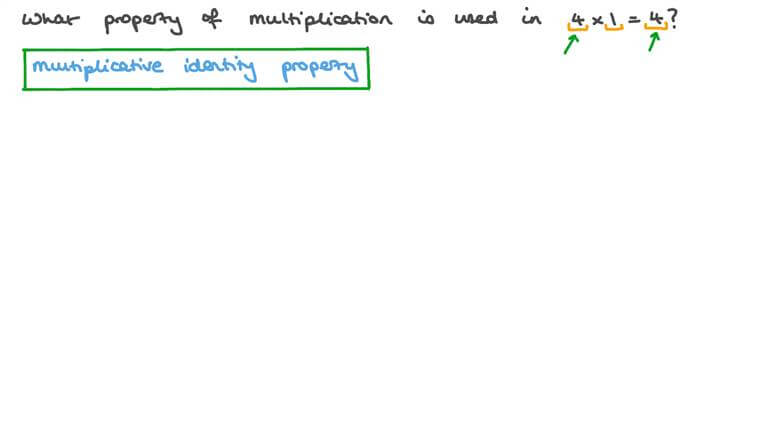 Identifying the Properties of Multiplication in a Set of Numbers